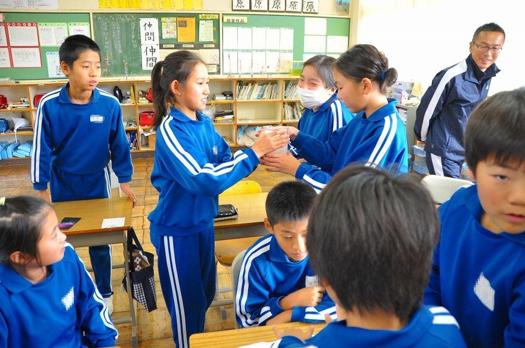 福井県勝山市立荒土小学校(2012...
